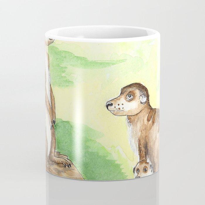 Meerkat Parents Coffee Mug