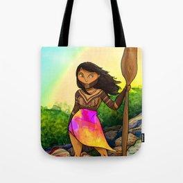 Embera girl Tote Bag