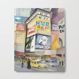 Phantom at Time Square Metal Print