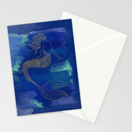 Mermaid/ Aquarius Zodiac Stationery Cards