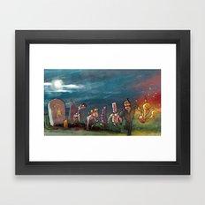 Adventure Game Revival Framed Art Print