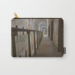 Green Grunge Mile Carry-All Pouch