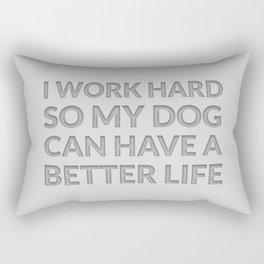 The Dog Lover I Rectangular Pillow