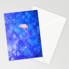 THE JELLYFISH - for iphone Stationery Cards