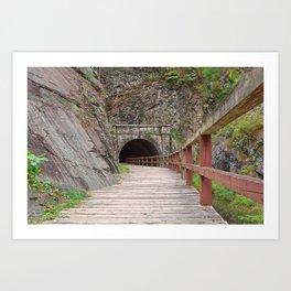 Paw Paw Tunnel Art Print