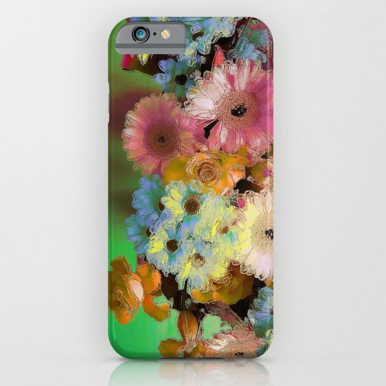 Floral Grunge iPhone & iPod Case