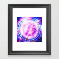 Galaxy Redux Framed Art Print