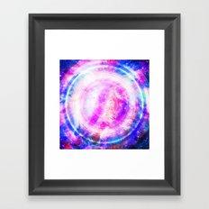 Galaxy Redux Framed Art Print