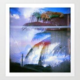 Bow to Rainbow Art Print