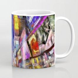 Times Square New York Art Coffee Mug