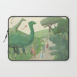 The Night Gardener - Summer Park Laptop Sleeve