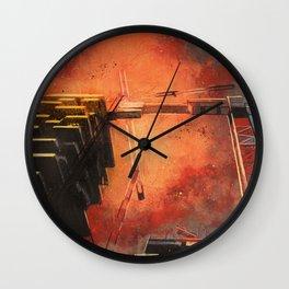 Male del male Wall Clock