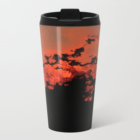 Electric Storm Metal Travel Mug
