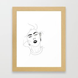 Dirty Rich Framed Art Print
