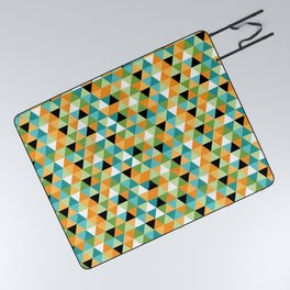 Scandy Triangles Picnic Blanket