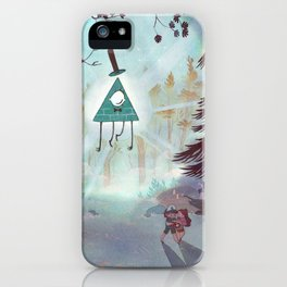 Bill is watching iPhone Case