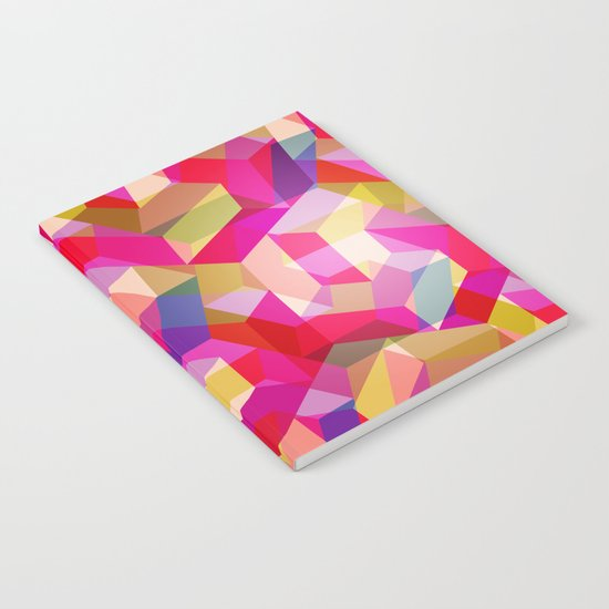 Colourful Twisted rectangles Notebook