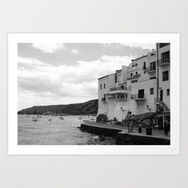 Edge of Cadaques Art Print