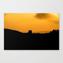 Sundown at White Edge Lodge Canvas Print