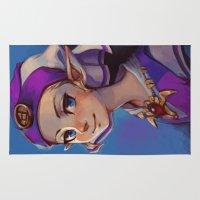 zelda Area & Throw Rugs featuring Princess Zelda by lulles