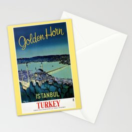 Golden Horn Istanbul Stationery Cards