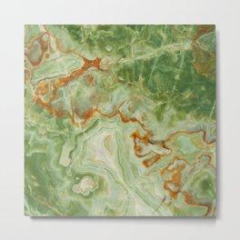 Green Onyx Metal Print