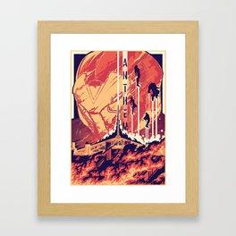 Fort Tarsis Framed Art Print