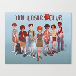 The Losers Club Canvas Print