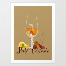 Palo Cortado Art Print