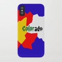 colorado iPhone & iPod Cases featuring COLORado by emscrazy8