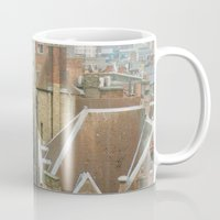 liverpool Mugs featuring Hello, Liverpool by Sami Kelsh