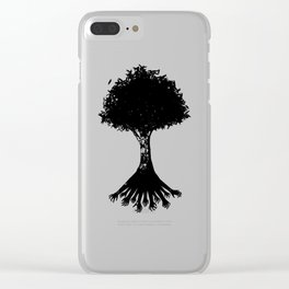 The Root Clear iPhone Case