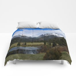 A Beautiful View Comforters