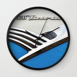 Crown Victoria Wall Clock