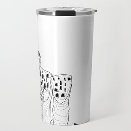Hundertwasser's Teeth Travel Mug