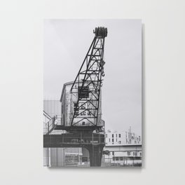 OUT OF SERVICE (graphite) / Cologne, Germany Metal Print