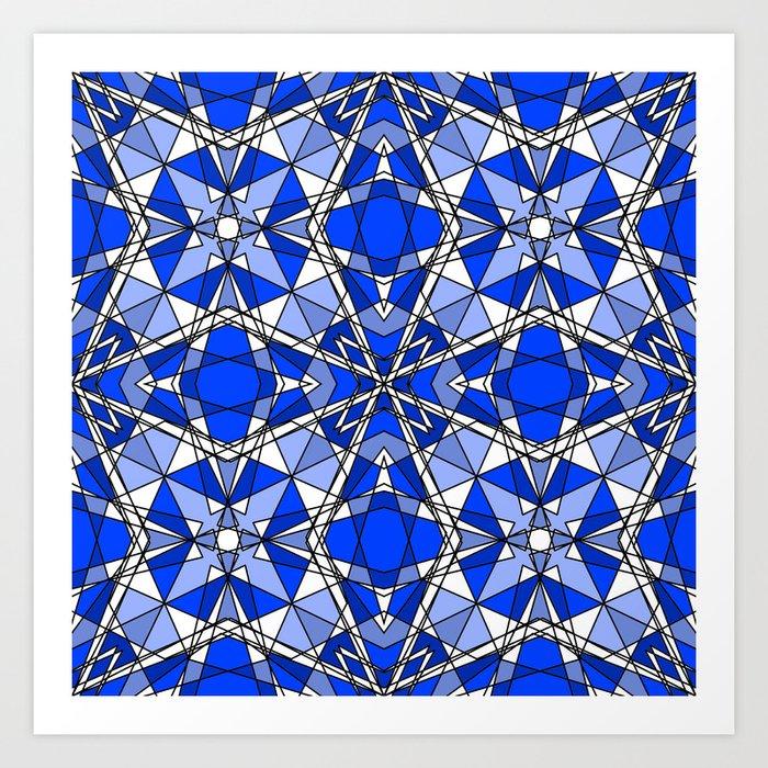 Blue Sapphire Kunstdrucke