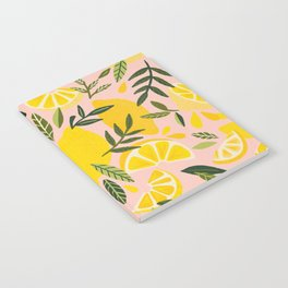 Lemon Blooms – Blush Palette Notebook