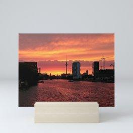 Spree Sunset II Mini Art Print