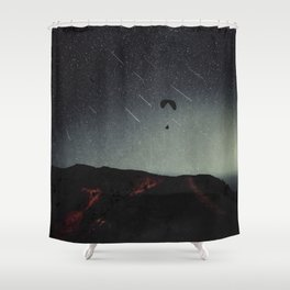 night of wonders Shower Curtain