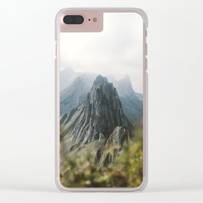 Blue Mountains - Landscape Photography Clear iPhone Case