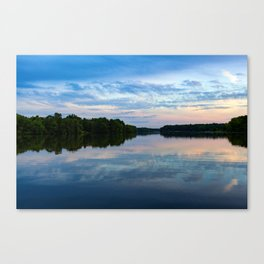 Core Creek Evening Canvas Print