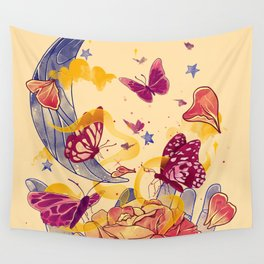 Papillon Ache Wall Tapestry