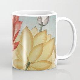 The Sacred Egyptian Bean | Sacred Lotus | Temple of Flora | Circa 1807 | Vintage Flowers | Vintage Florals | Coffee Mug