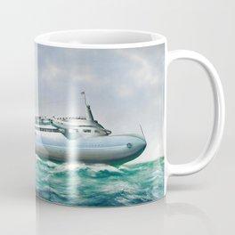 Streamlined ocean liner Coffee Mug