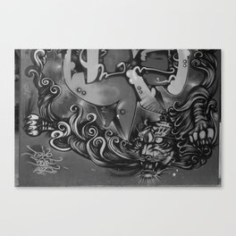 tora Canvas Print