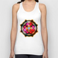 sacred geometry Tank Tops featuring Sacred by Sircasm