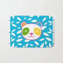 Rainbow Panda Bath Mat