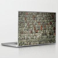 letters Laptop & iPad Skins featuring Letters by Sébastien BOUVIER