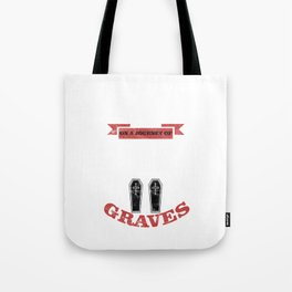 Two Graves Tote Bag